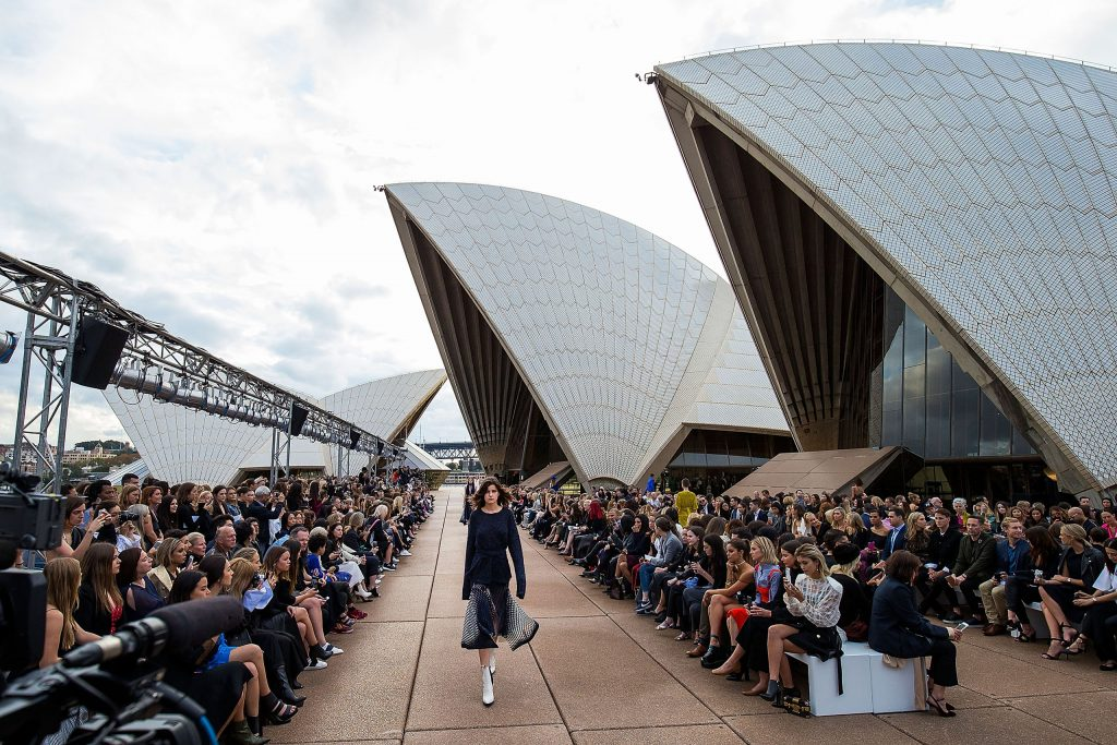 Mercedes-Benz Presents Dion Lee - Runway - Mercedes-Benz Fashion Week Australia 2017