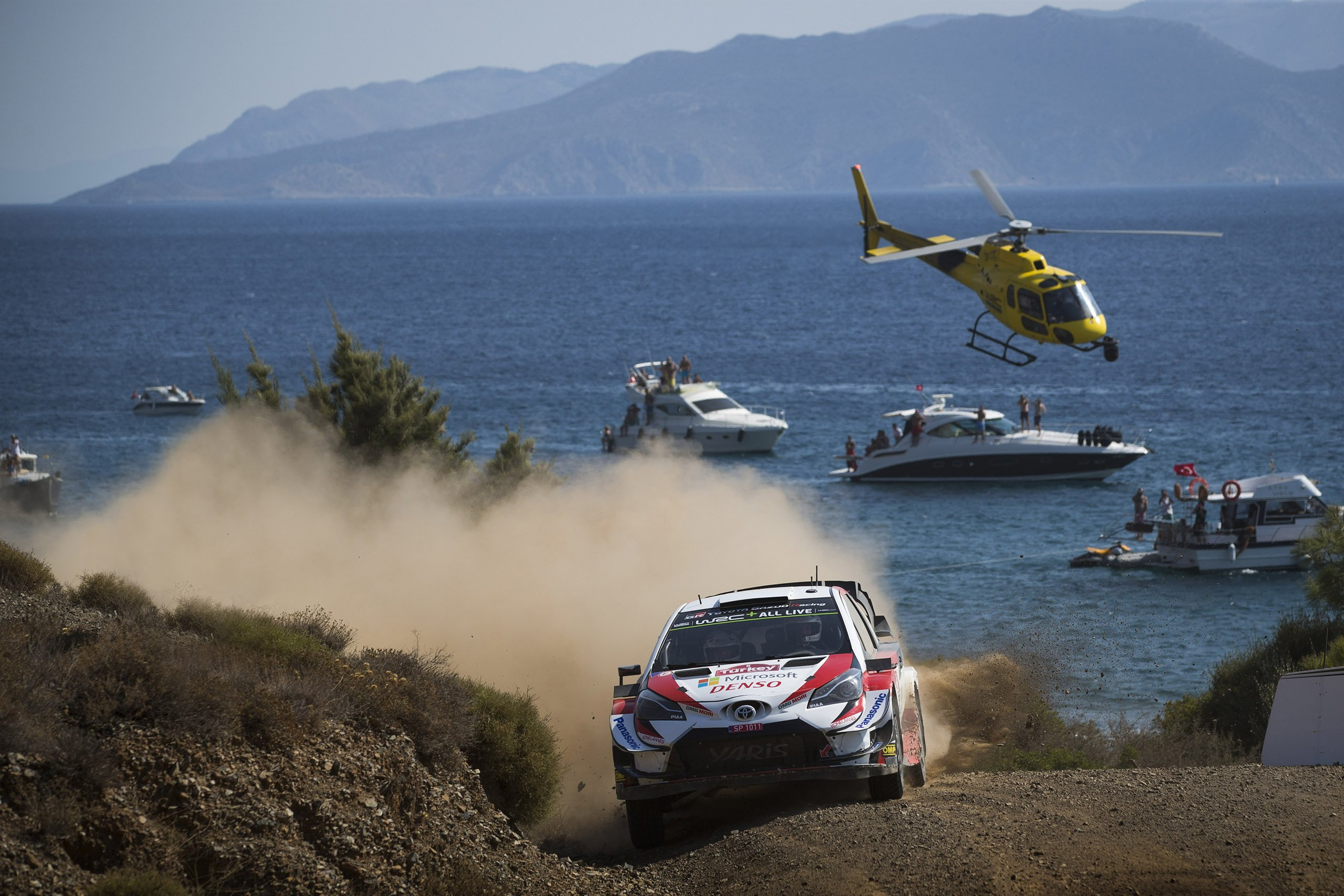 FIA World Rally Championship in Rally Turkey 2019
