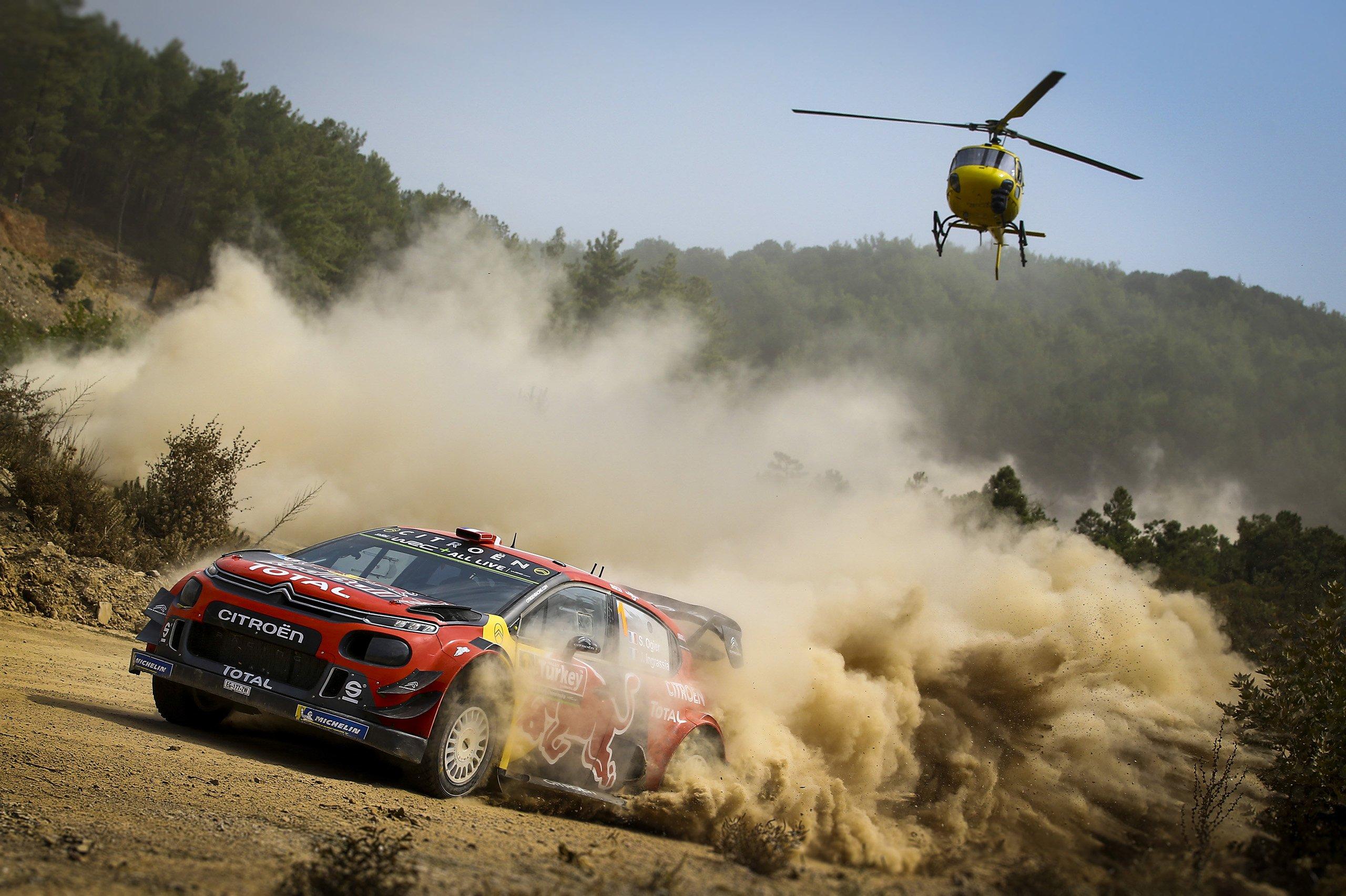 FIA World Rally Championship in Turkey