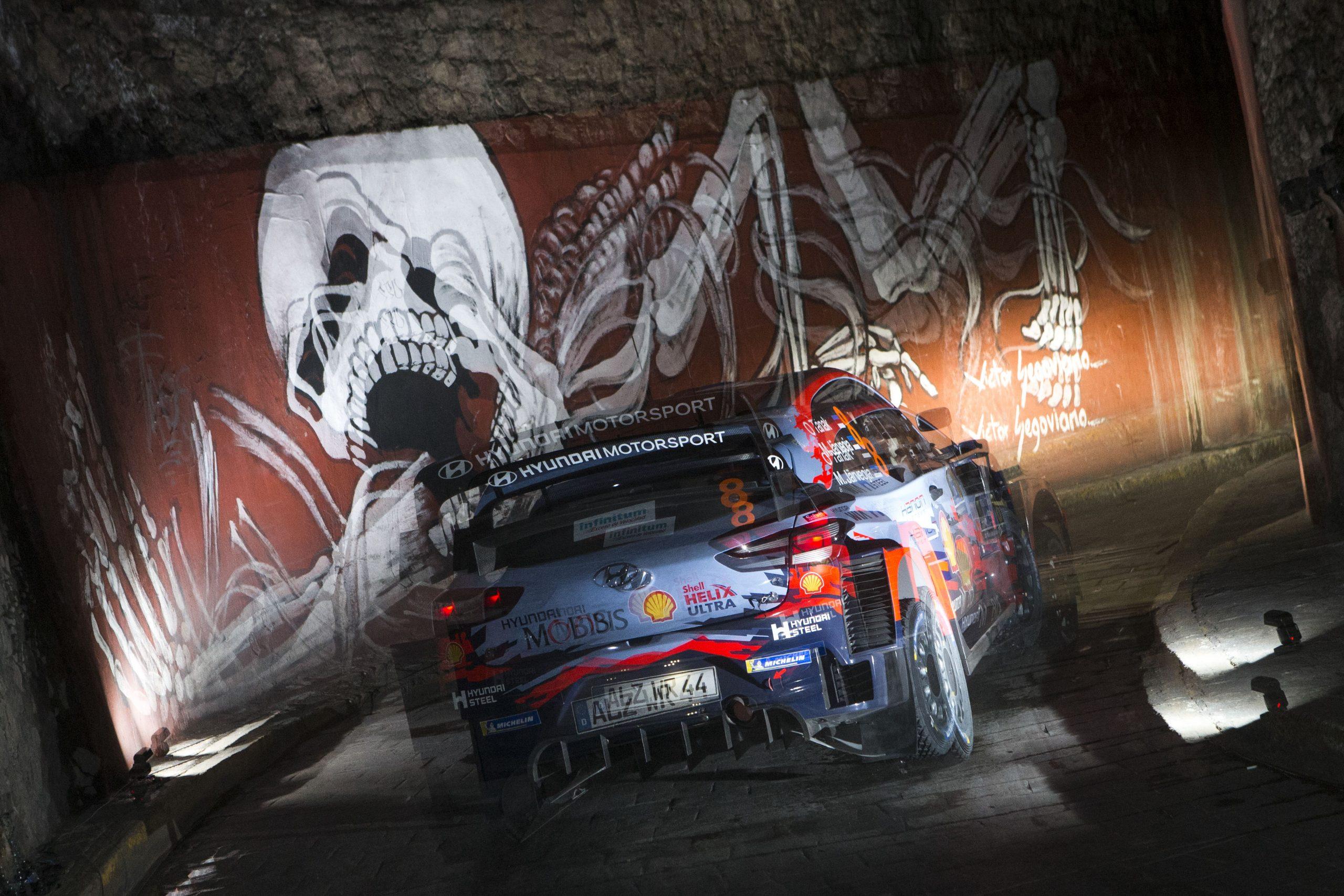 FIA World Rally Championship in Rally Mexico 2019